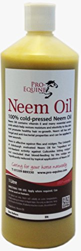 Neem Oil for horses 1Litre Sweet-Itch, Mudfever, woundcare. 1