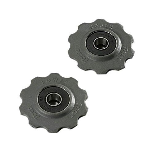 Tacx Dämpfer und Komponent T4020 Schaltungsrädchen, grau, One Size