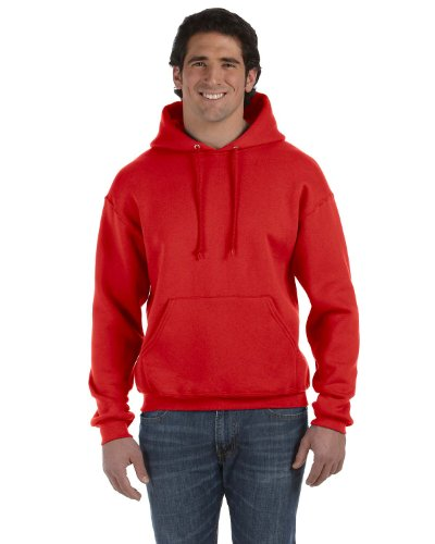 Fruit of the Loom Herren Kapuzenpullover True Red