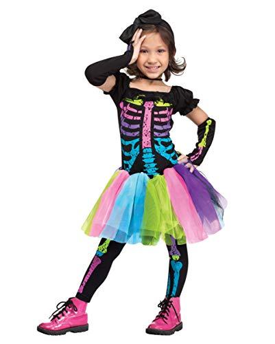 nk Skeleton Kleinkinderkostüm L ()