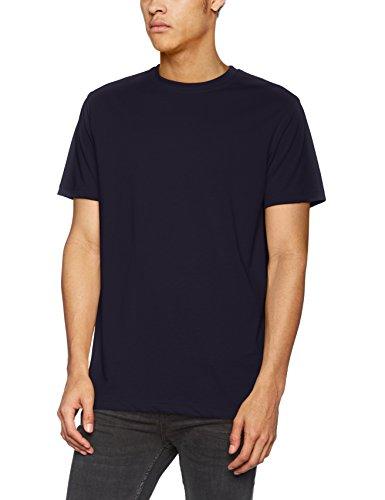James & Nicholson Herren Men's Workwear T-Shirt Blau (Navy)