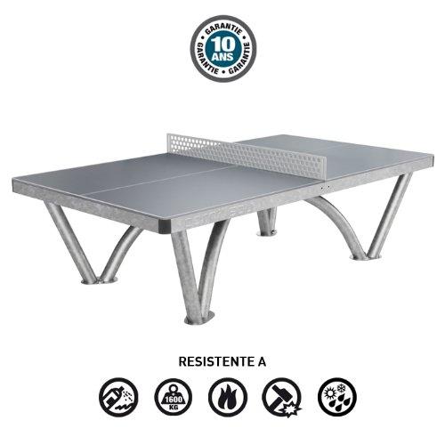 Cornilleau park outdoor tavolo da ping pong acciaio - Tavolo da ping pong amazon ...