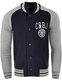 Cipo & Baxx Herren Strickjacke C-6354 Blau