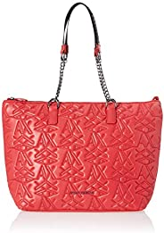 Armani Exchange Tote Bag for Women- Red