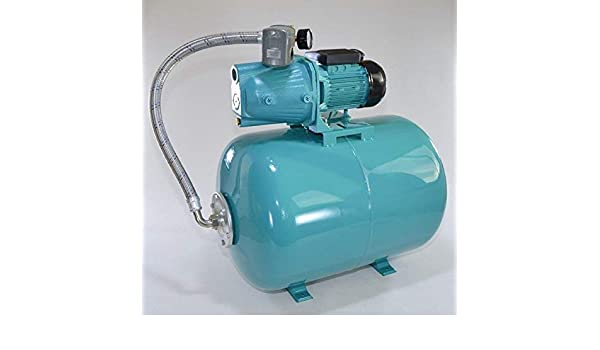 Hauswasserwerk Hauswasserautomat 24 L Pumpe JET100A  1100 W Gartenpumpe Jetpumpe
