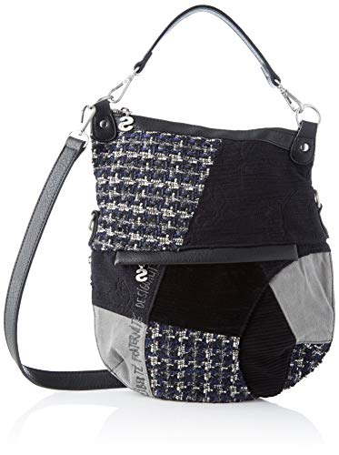 Desigual 19waxab2, borsa a tracolla donna 35.5x3x31 cm (b x h x t)