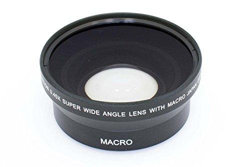 vhbw Weitwinkel Vorsatzlinse 62mm, Faktor 0,45x für Kamera Fuji / Fujifilm XF 23 mm F1.4 R, XF 55-200 mm F3.5-4.8 R LM OIS, XF 56 mm 1,2 R APD.