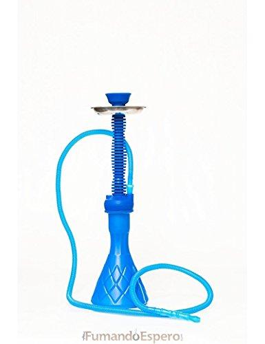 Shisha - Cachimba de Silicona (50 cm) - Color: Azul