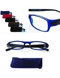 LS Design Lesebrille Brille Lesehilfe Sehhilfe inkl. Etui +1,0 +1,5 +2,0 +2,5 +3,0