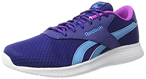 Reebok Royal Ec Ride, Baskets Femme, Bleu (Deep Cobalt/California Blue/Vicious Violet/White), 42 EU