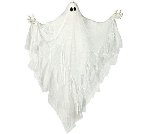 Fiestas Guirca Fantasma Luminoso 170 cm, weiß 26219 (Di Spiriti Halloween)