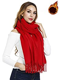 74c415107661 Gogogoal Écharpe en cachemire Châle Pashmina foulard Femme Homme, Longug,  Chaleureux, grande 80