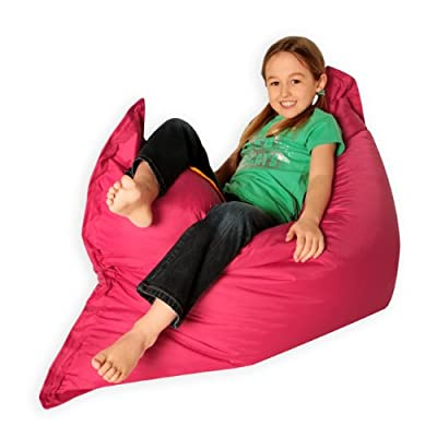 Kids BAZ BAG ® Beanbag Chair PINK - Indoor & Outdoor Kids Bean Bags