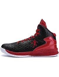 d4ac6cdda27c3c Männer Basketball Schuhe High-Top-Dämpfung Licht Anti-Skid AtmungsAktive  Outdoor-Sportschuhe