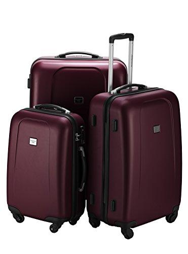 HAUPTSTADTKOFFER · Sets de bagages · (42;67;103 liters) · Serrure TSA · en différentes couleurs (Bordeaux Opaco)