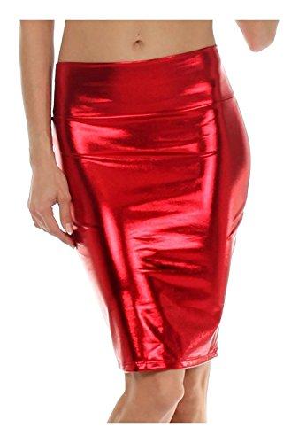 Fashion Lovers -  Gonna  - Astuccio - Donna Red