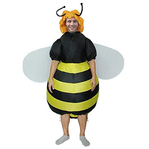Jugendliche Biene Für Kostüm - Meixiang Aufblasbare Kleidung Halloween-Kleidung, Aufblasbare Kleidung des Dinosauriers, Festivalleistungs-Animekostüm, Biene