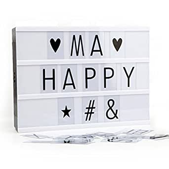 boite lumineuse lettres diy opard light box a4 bo te. Black Bedroom Furniture Sets. Home Design Ideas