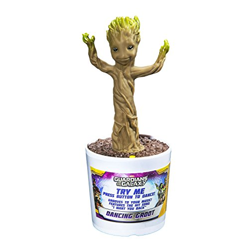 Stars Kostüme Dance (Guardians of the Galaxy Dancing Baby Groot Interaktive Figur mit Sound 23)