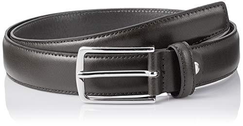 JACK & JONES NOS Herren Jacchristopher Belt Noos Gürtel, Schwarz (Black Detail: Normal Buckle), 675 (Herstellergröße: 95)