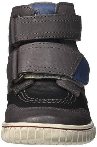Kickers - Winsor, Scarpe da ginnastica Bambino Nero (Noir/Bleu)