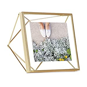 Umbra Prisma Multi Photo Frame in Steel, Matte Gold