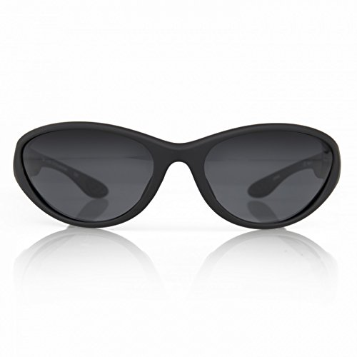 Gill Classic Watersport Beach Yachting- oder Surf-Sonnenbrille Mattschwarz - Polarisierte Brillentechnologie