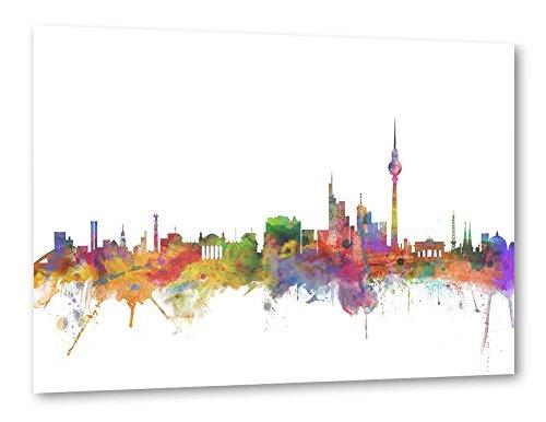 "artboxONE Poster 30x20 cm Aquarell Städte Städte / Berlin ""Berlin Germany"" bunt hochwertiger Design Kunstdruck - Bild Aquarell Städte Städte / Berlin von Michael Tompsett"