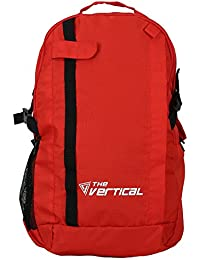 The Vertical 24 Ltrs Red Casual Backpack (Frost)