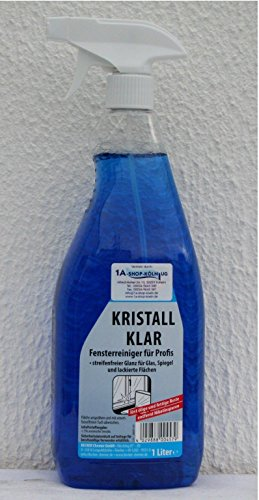 Eilfix Fensterreiniger - Kristall Klar - mit Sprühpistole 1 Liter