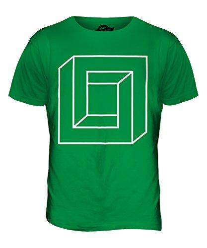 CandyMix Quadrat Unmögliche Herren T Shirt Grün