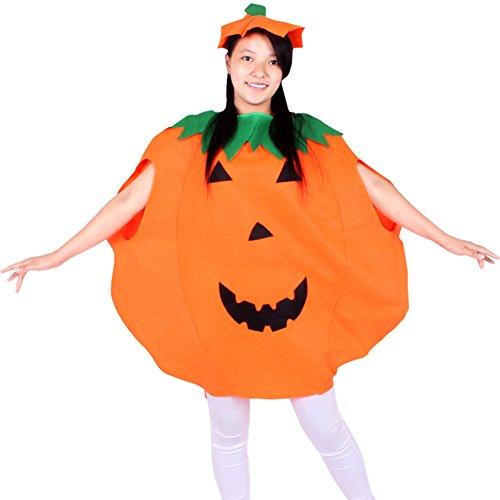 Imagen de 17years disfraz fiesta adultos niños calabaza de halloween niños cosplay disfraz, naranja, adulto