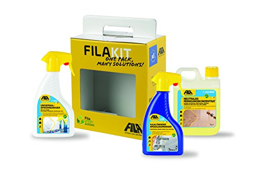 Kronleuchter Reiniger Spray ~ Fila kit reinigungsset auswahl an haushaltsreiniger für
