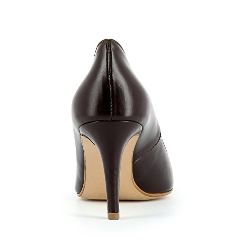 Evita Shoes - Jessica, Scarpe col tacco Donna Marrone (Marrone scuro)