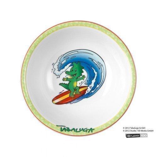 "Preisvergleich Produktbild Children's Set 3 Tlg. Compact ""Tabaluga"" 24448 of Willow Porcelain by Seltmann Weiden"