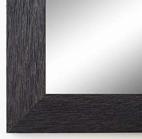 Online Galerie Bingold Wandspiegel Spiegel Badspiegel - Florenz 4,0 - Schwarz - 40 x 140 - Außenmaß inkl. Massivholz-Rahmen - viele Größen verfügbar - Modern, Barock, Antik, Vintage