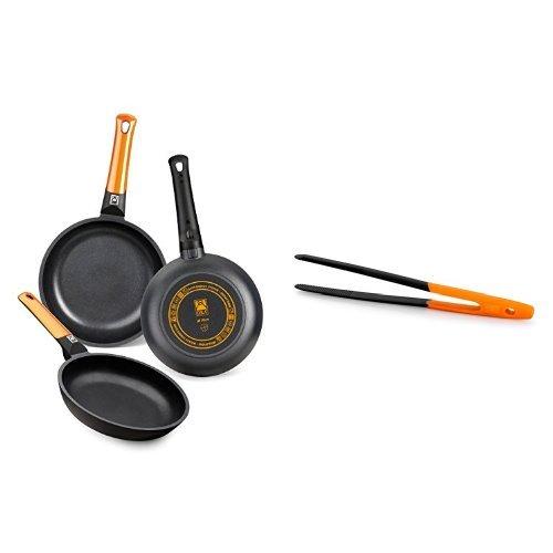 BRA Efficient Orange - Set 3 sartenes + Air - Pinza
