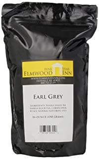 Elmwood Inn Fine Teas, Earl Grey Black Tea, 16-Ounce Pouch