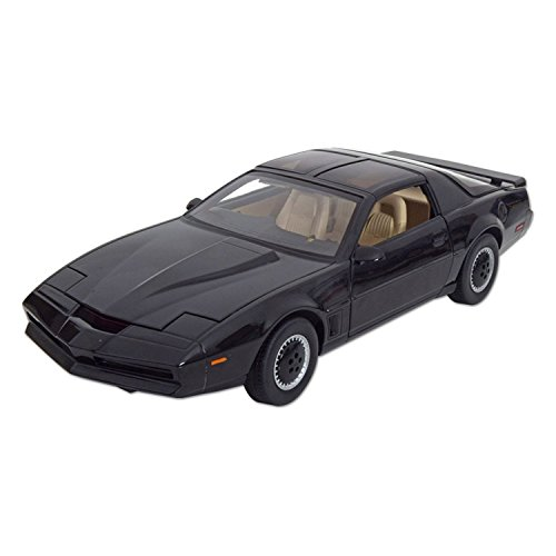 Modello In Metallo K.I.T.T. Knight Rider Serie Tv Scala 1:18 - Hot Wheels Heritage