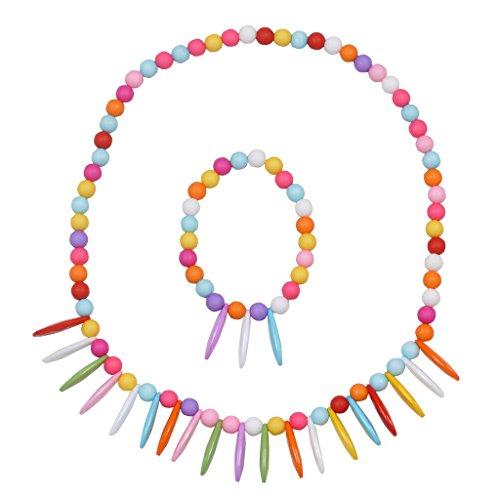 Angel Glitter Seashell Gems, Playschool Friends Necklace Set for Children