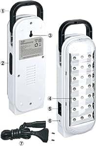 DP LED 20 LED'S Rechargable Light