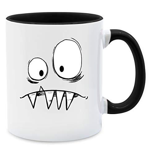 Statement Tasse - Monster Kostüm - Unisize - Schwarz - Q9061 - Kaffee-Tasse inkl....