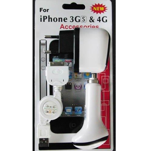 Id-ipod (Technaxx iPod/iPhone 3GS/4G Accessories Kit Schwarz)