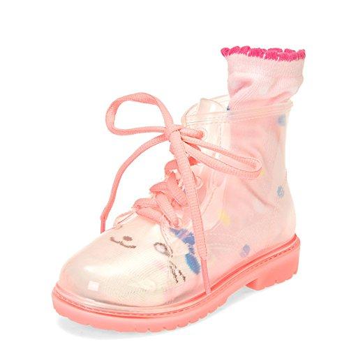 OKSHOES - A collo basso Unisex per bambini , rosa (Pink), 31 EU
