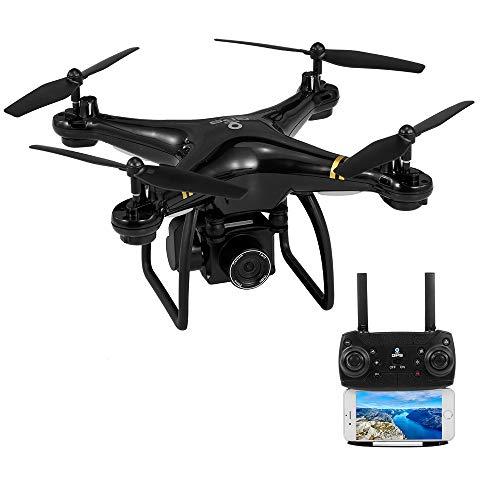 Goolsky HY-83 GPS 5G WiFi Drone con Fotocamera 1080P Grandangolare Follow Me Quadcopter