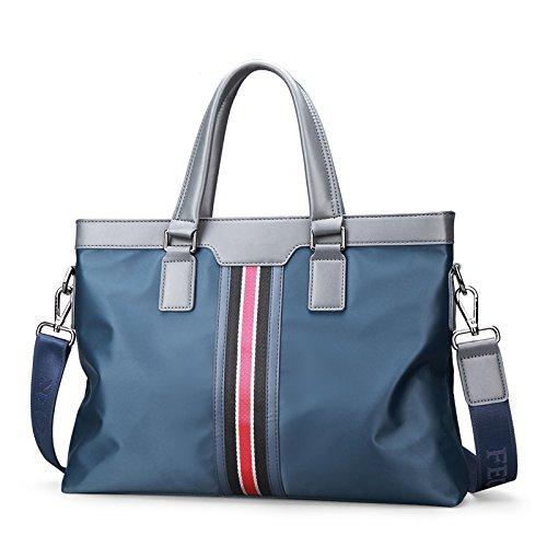 Männer aus Nylon Tasche Business Briefcase Handtasche Schultertasche täglichen Einsatz 13
