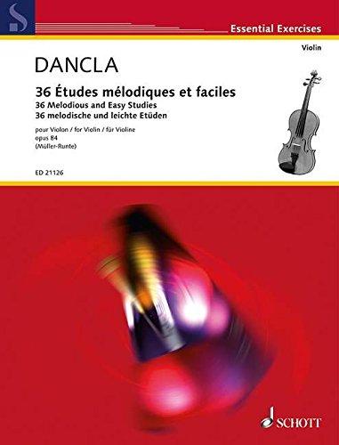Etudes mlodiques et faciles Op.84 (Rv.Mueller) --- Violon