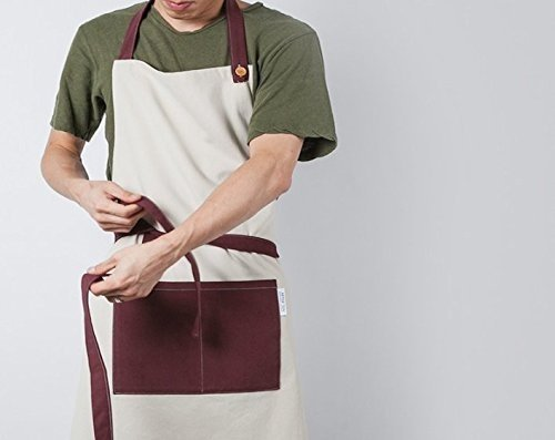 cozymomdeco Woman And Man Chef Works Handmade Apron Japanese Cross Back Organic...