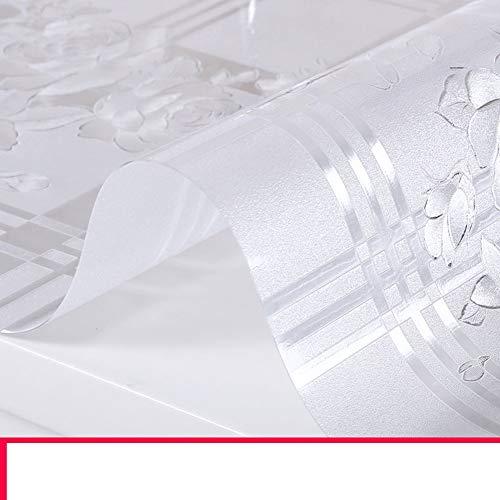 Mantel PVC/Aceite Impermeable Estera Mesa Vidrio Suave/Estera