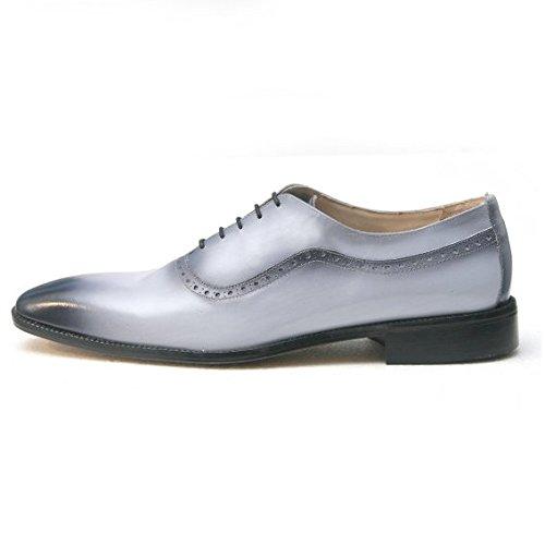 Jacopo Ridolfi-Chaussure Homme Oxford grigio - nero